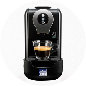 Lavazza BLUE espresso capsule brewer