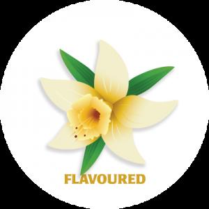 coco.bm Nespresso section icon - vanilla flower graphic