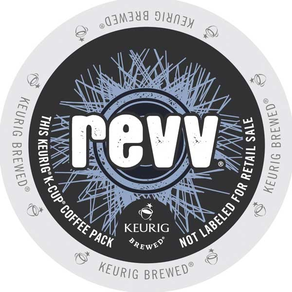 Green Mountain revv K-Cup lid graphic